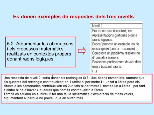 Orientacions metodològiques, competència 5 d'EP                   Investigar per poder trobar raons:                   exe...
