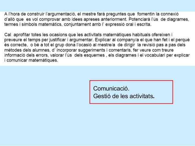 Consells de gestió de l'activitat