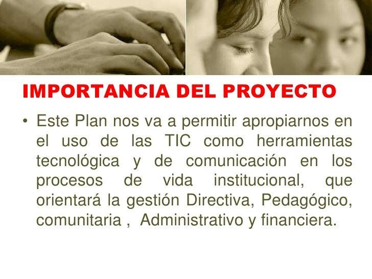 Presentacio Del Proyecto De Las Tic Slide 3