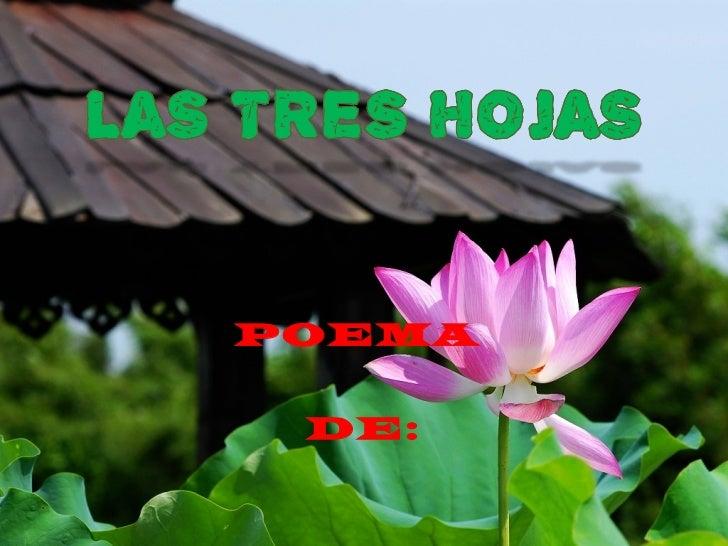 POEMA DE: