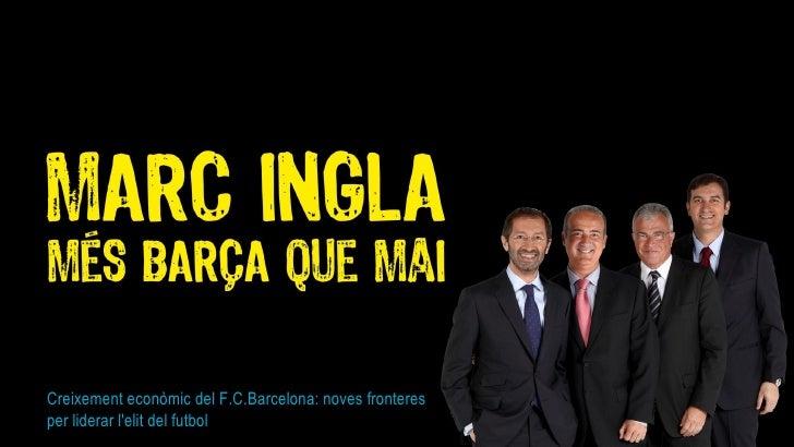 Creixement econòmic del F.C.Barcelona: noves fronteres per liderar l'elit del futbol