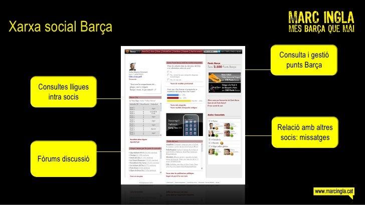 Xarxa social Barça                          Consulta i gestió                            punts Barça       Consultes lligu...