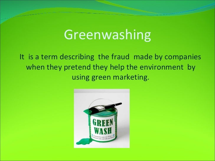 Greenwashing Raising Hope