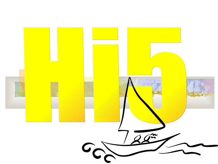 Presentacio Hi5 De Andrea De Mingo