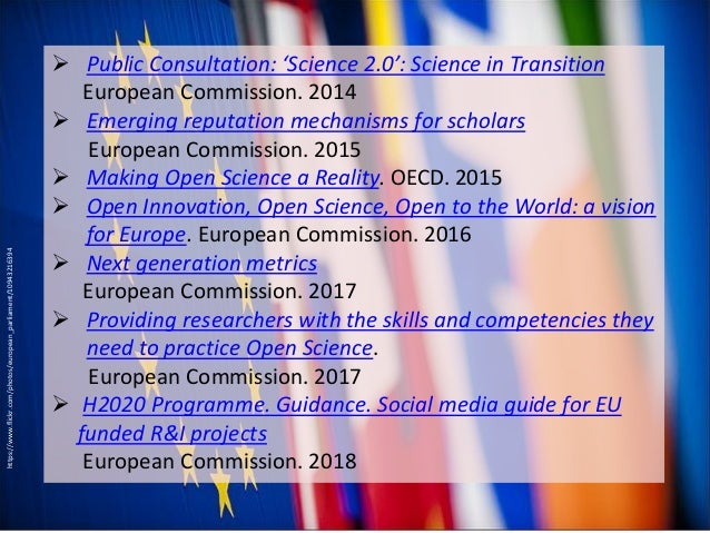 Science dissemination 2.0: Social media for researchers