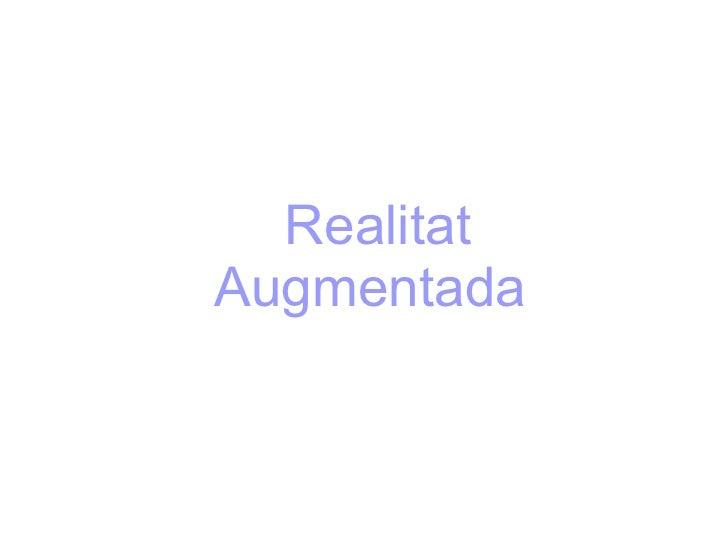 Realitat Augmentada