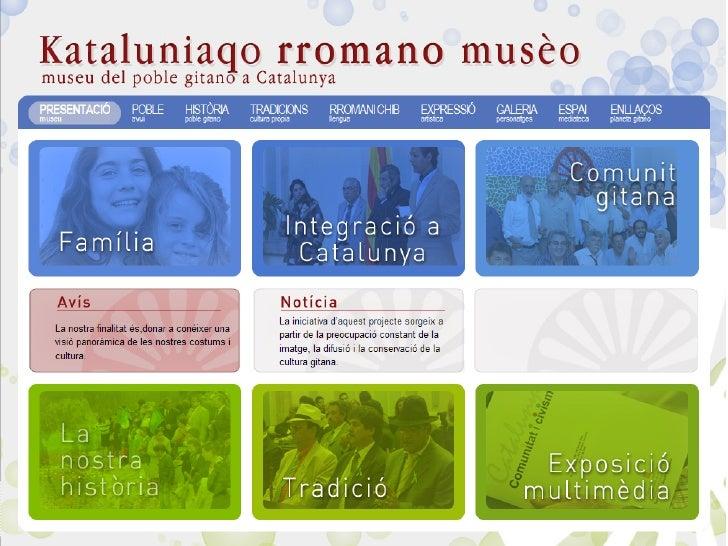 Presentació del Museu Virtual del Poble Gitano