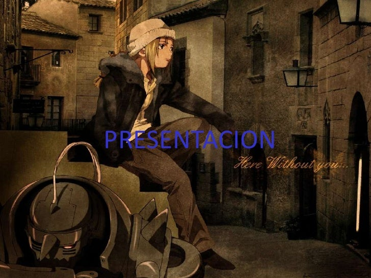 PRESENTACION<br />