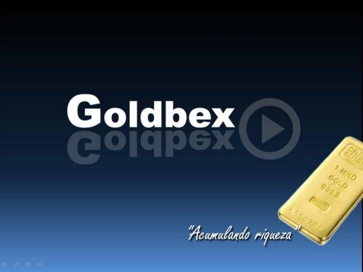 Apresentação Goldbex
