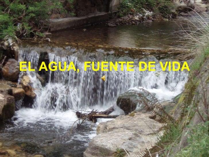 El agua fuente de vida - Motor de fuente de agua ...