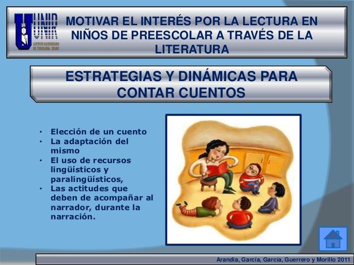 La Lectura En Niños De Preescolar A Través De La Literatura