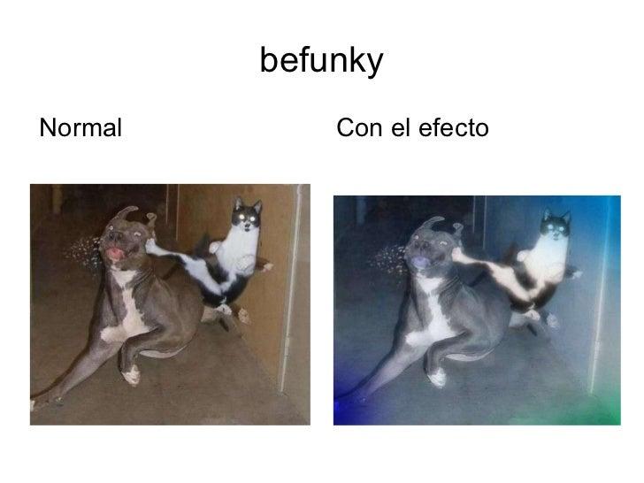 befunky <ul><li>Normal  </li></ul><ul><li>Con el efecto </li></ul>