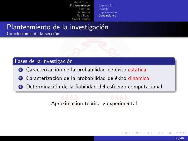 Introducción                             Planteamiento     Exploración                                    Estático   Model...