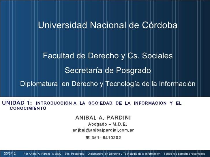 Universidad Nacional de Córdoba                         Facultad de Derecho y Cs. Sociales                                ...