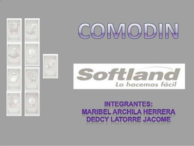    Softland Colombia, anteriormente Mecosoft y luego Mecosoftland, fue fundada en    octubre 26 de 1983. Mecosoft fue una...