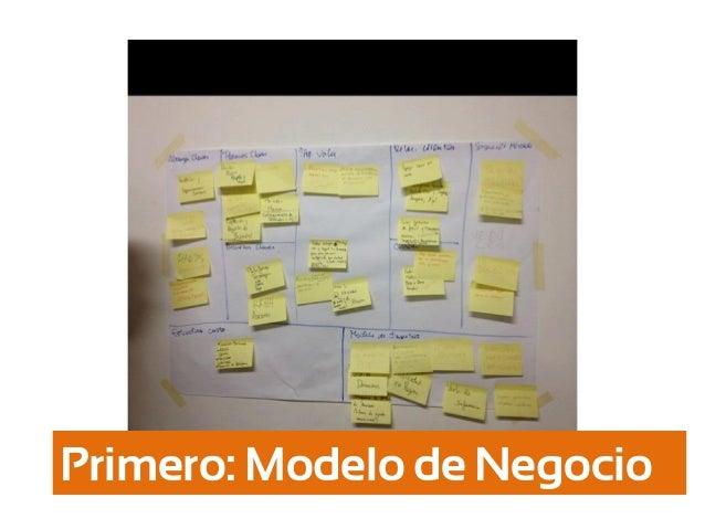 Primero: Modelo de Negocio