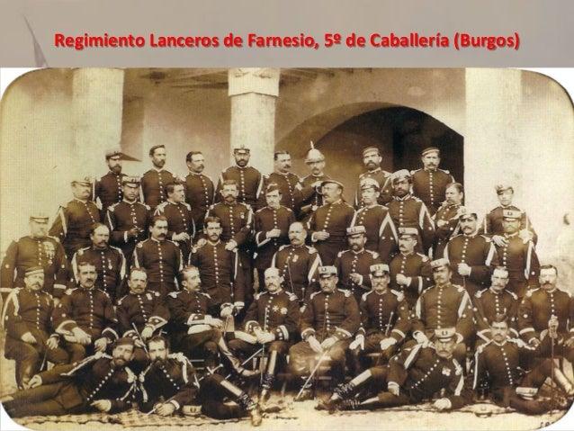Regimiento Farnesio, siglo XIX