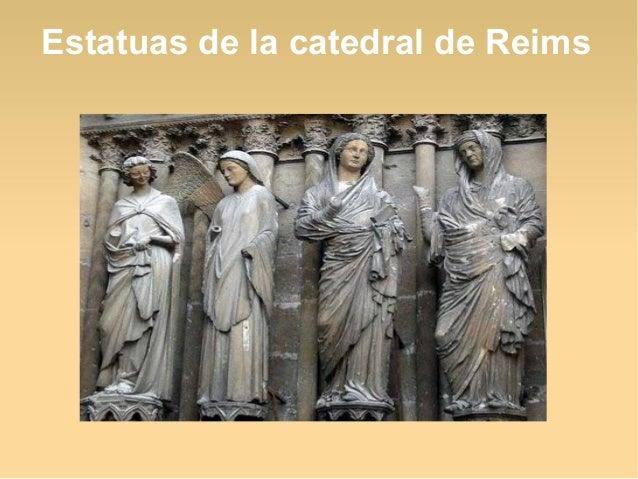 Estatuas de la catedral de Reims