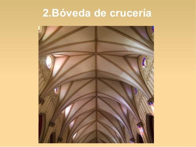2.Bóveda de crucería