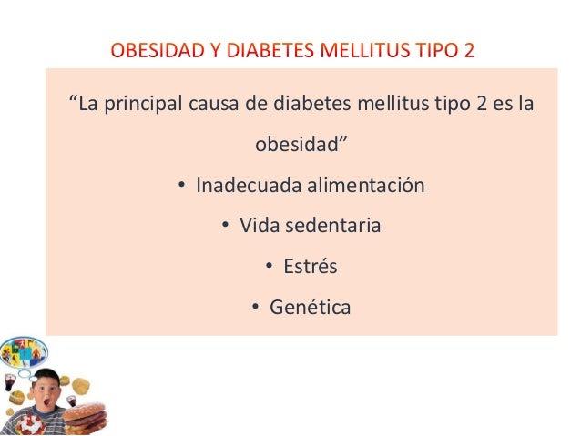 obesidad, causa de diabetes tipo 2