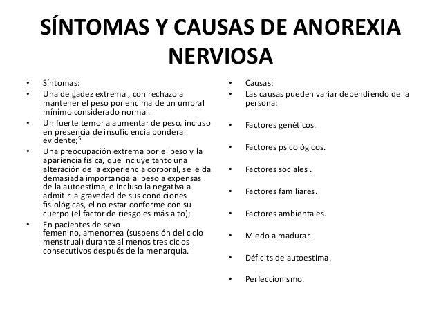 Presentación de ANOREXIA Y BULIMIA