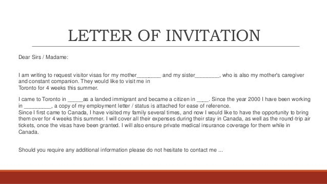 Invitation Letter For Visa For Family Altin Northeastfitness Co