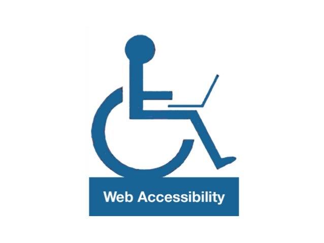 A web naceu para solucionar un problema de accesibilidade