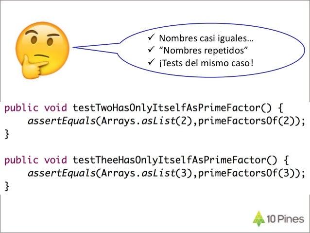 """Tip: Dato de Prueba != Caso de Prueba  Dato de Prueba: Ejemplos concretos que """"definen"""" un caso de prueba  Caso de Prueb..."""