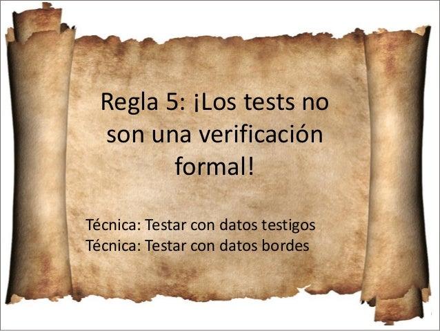  Separar el test en 2