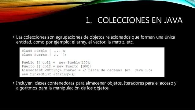 programaci n 3 colecciones java