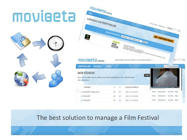 The best solution to manage a Film Festival
