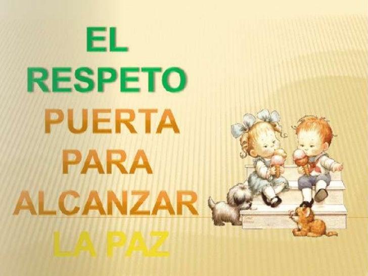 El respetoCómo ser respetuosoValores para tener relaciones de respetoTodos somos igualesCuento todos somos diferentesRespe...