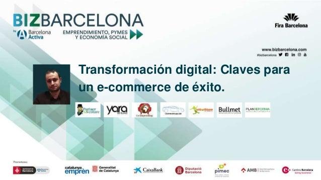 Transformación digital: Claves para un e-commerce de éxito.