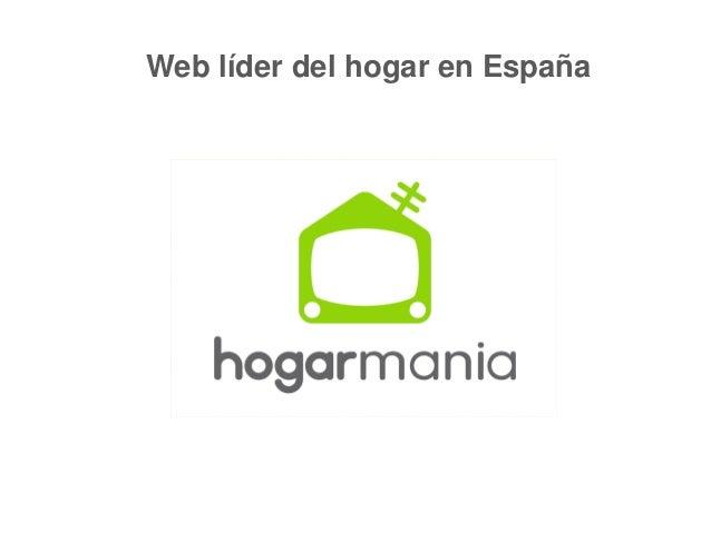 Web líder del hogar en España