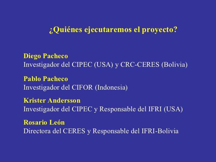 Presentacion CERES Elizabeth Pinto Slide 2