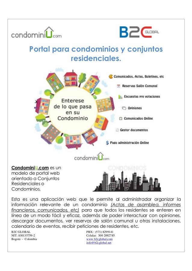 B2C GLOBAL NIT: 830135759-2 Bogotá - Colombia PBX: (571) 8299141 Celular: 300 2092785 www.b2cglobal.com info@b2cglobal.net...
