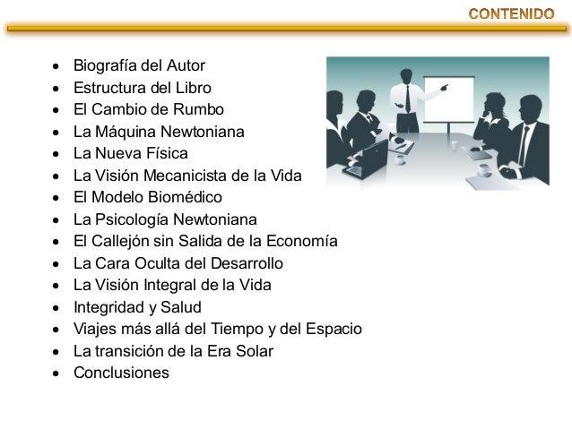 PRESENTACIÓN DE EL PUNTO CRUCIAL Slide 3