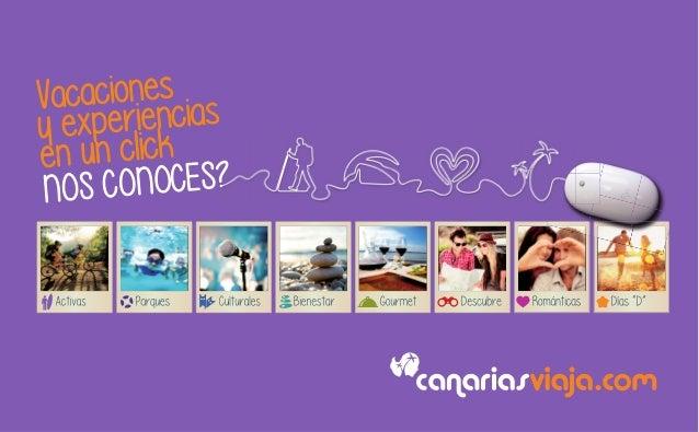 CanariasViaja.com, nos conoces?