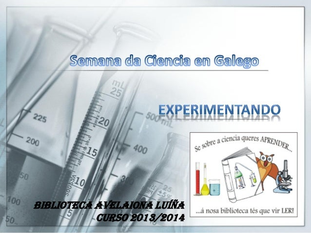 Biblioteca Avelaiona Luíña Curso 2013/2014