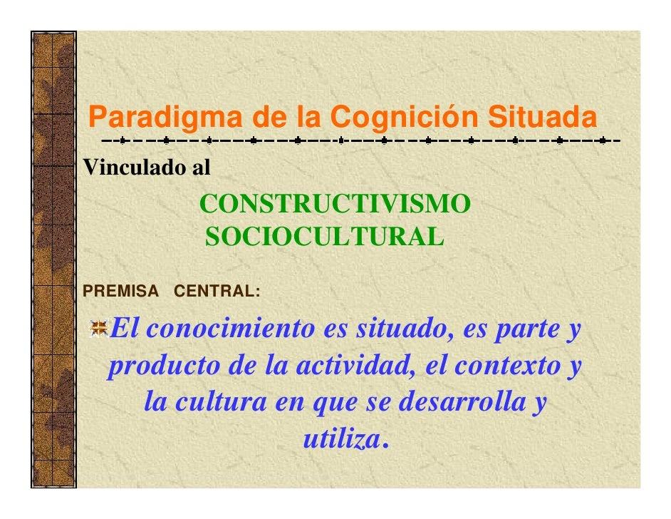 MODELO DE ENSEÑANZA        SITUADA    Centrado en prácticas   educativas auténticas, las     cuales requieren ser  coheren...