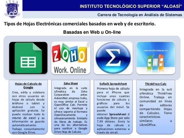 Hojas electronicas for Cuales son las caracteristicas de la oficina