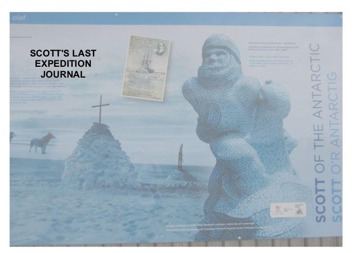 SCOTT'S LAST EXPEDITION JOURNAL