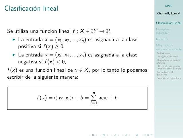 Máquinas de vectores de soporte Slide 3