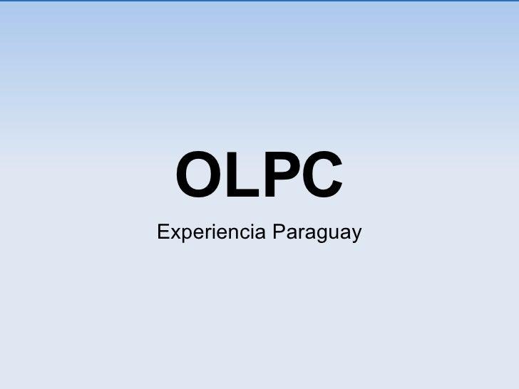 OLPC Experiencia Paraguay