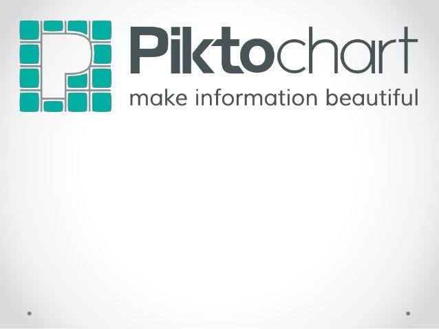 ¿Qué es PiktoChart? • Es un editor web de infografías, muy intuitivo a la hora de trabajar con él. Es ideal para conseguir...