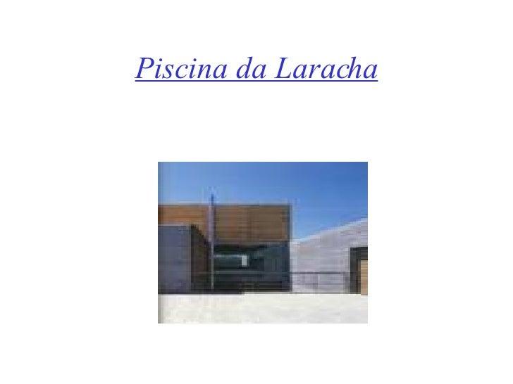 Presentacion power point for Piscina laracha