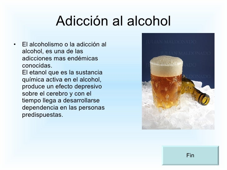 Como sanar el alcoholismo de la última fase