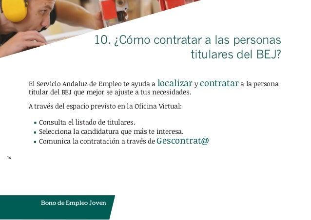 presentacion programa bono empleo empresas