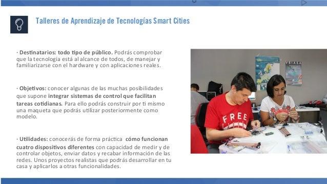 Presentación Taller de Aprendizaje de Tecnologías Smart Cities Slide 3
