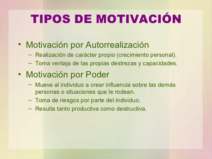 Presentacion Tema La Motivacion Y La Satisfaccion